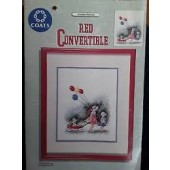 Coats - Annetta Nichols Red Convertible Cross Stitch Leaflet