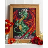 Cross Stitcher Project Pack - Red Winged Dragon XST343