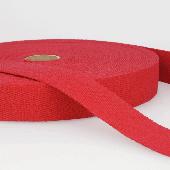 25mm Wide Red Webbing - 1 metre
