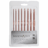 Crochet Hook Set - 8 x Rose Gold Crochet Hooks