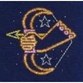 DMC Sagittarius Cross Stitch Kit BK1870