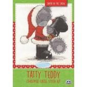 BL1095/72 - Me to You Tatty Teddy Santa in the Snow Cross Stitch Kit