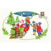 DMC BK1580 - Santa is Coming Cross Stitch Kit