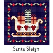 DMC Santa Sleigh Christmas Cross Stitch Kit