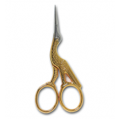 Klasse Deluxe Gold Stock Scissors - 9cm (3.5in)