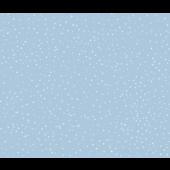Fabric Flair 14ct Aida Snow on Blue