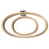 """Siesta 8 x 12 """" Oval Embroidery Hoop"""