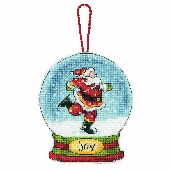 Dimensions Snow Globe Joy Cross Stitch Kit