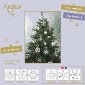 Anchor Crochet Snowflakes Kit Set 2