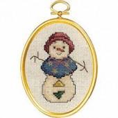 Janlynn 021-1791 - Snowlady Cross Stitch Kit