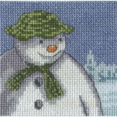 BL1178/64 - The Snowman Fir Trees Cross Stitch Kit