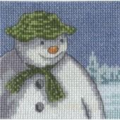 BL1178/64 - The Snowman Fir Trees Cross Stitch Kit