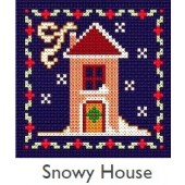 DMC Snowy House Cross Stitch Kit