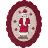 Rico St Nic Felt Hanger Cross Stitch Kit