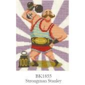 DMC Strongman Stanley Cross Stitch Kit - BK1855