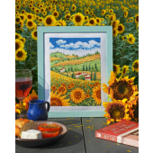 Cross Stitcher Project Pack - Fields Of Gold - XST359
