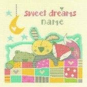 BK1561 - Sweet Dreams Cross Stitch Kit