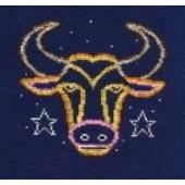 DMC Taurus Cross Stitch Kit BK1863