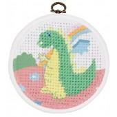 DMC Stitch It Jr!  The Dinosaur BK1843