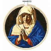 BL1210/71 - The Virgin In Prayer Cross Stitch Kit