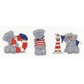 BL1077/72 - Me to You Tatty Teddy Three Little Sailors Cross Stitch Kit