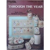 Leisure Arts Through The Year Cross Stitch Chart Leaflet