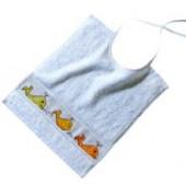 Rico Baby Tie on Bib - Azure (30 x 34cm)