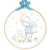 TMREMB4 - My Private Kingdom Printed Embroidery Kit