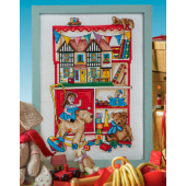 Cross Stitcher Project Pack - Toy Cupboard -  XST368