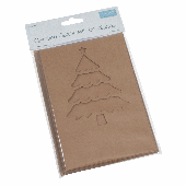 Trimits Greeting Cards With Envelope - Christmas Tree