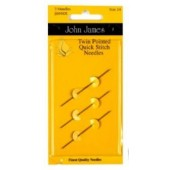 John James Size 24 Twin Pointed Quick Stitch Needles