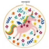 DMC Unicorn Cross Stitch Kit - BK1916