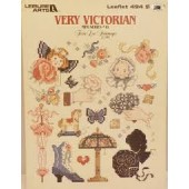 Leisure Arts Very Victorian Cross Stitch Chart Leaflet