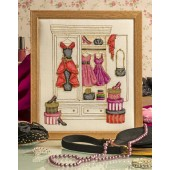 Cross Stitcher Project Pack - Retro Wardrobe XST347