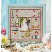 Cross Stitcher Project Pack - Wedding Sampler - XST341
