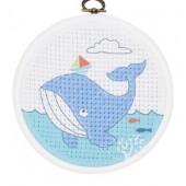 DMC Stitch It Jr!  The Whale BK1840