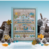 Cross Stitcher Project Pack - Winter Wonderland Sampler- XST365