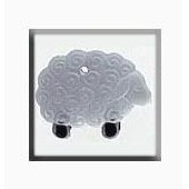 Mill Hill Glass Treasures 12216 - Wooly Sheep