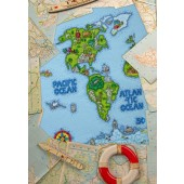 Cross Stitcher Project Pack - World Map XST356/357