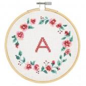 DMC Wreath Cross Stitch Kit - BK1837