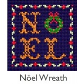DMC Noel Wreath Cross Stitch Kit