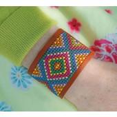 Stitchable Bracelet Brown