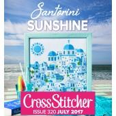 Cross Stitcher Project pack - Santorini Sunshine issue 320