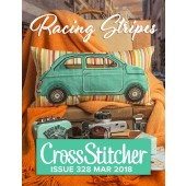 Cross Stitcher Project pack - Racing Stripes - Issue 328