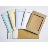 Recycled Cards - Rectangular Cream Pack