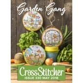 Cross Stitcher Project Pack - Garden Gang Issue 330