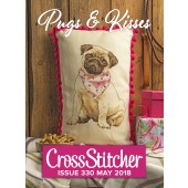 Cross Stitcher Project Pack - Pugs & Kisses Issue 330