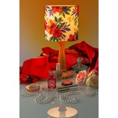 Cross Stitcher Project Pack - Floral Lampshade XST340