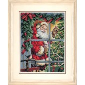Dimensions Gold Collection Kit Candy Cane Santa