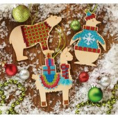 Animal Wooden Ornaments